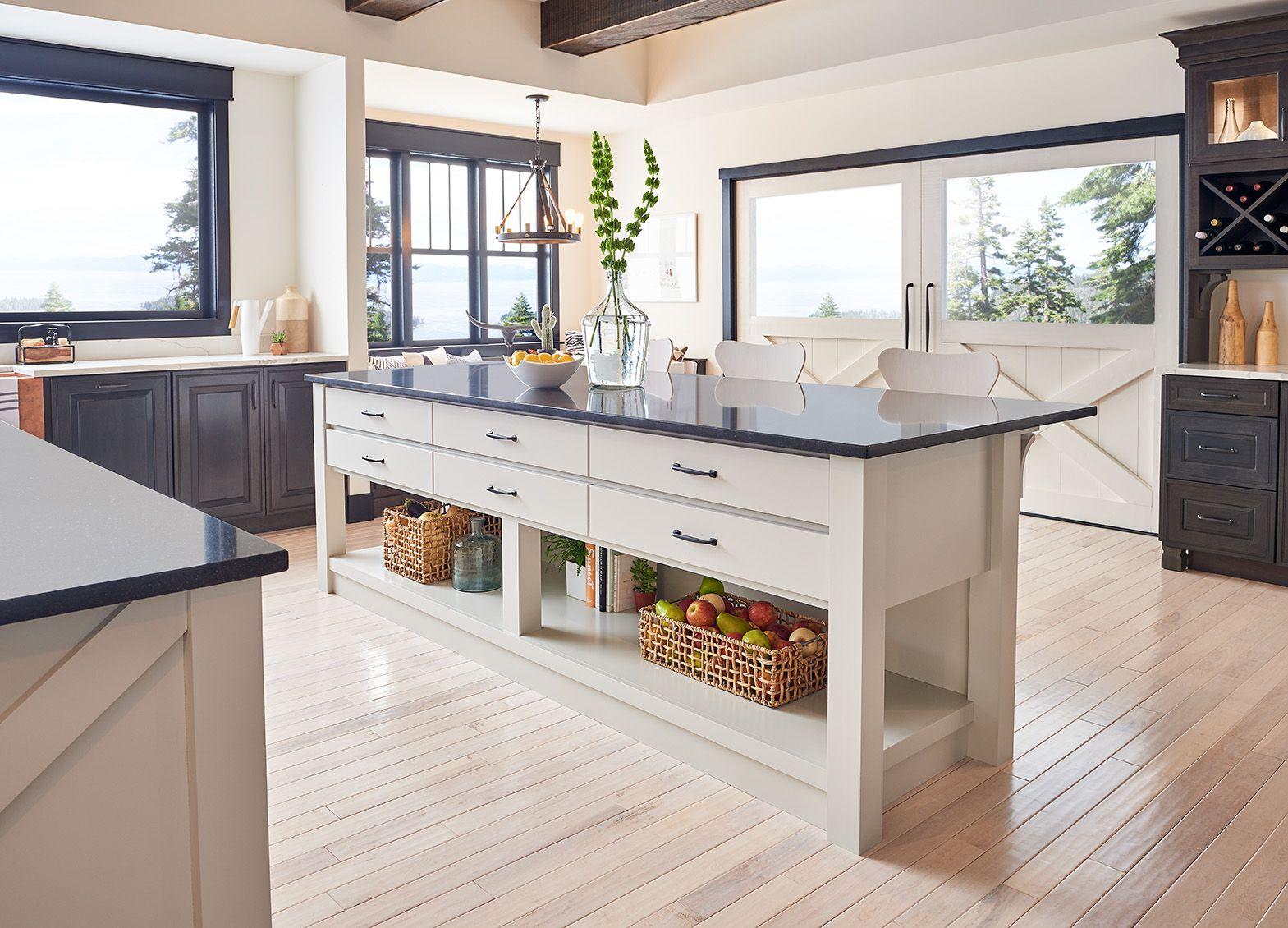 Waypoint Custom Cabinets Cherry Slate Builders Surplus Located In Louisville Ky Or Newport K Kitchen Remodel Design Functional Kitchen Design Kitchen Remodel