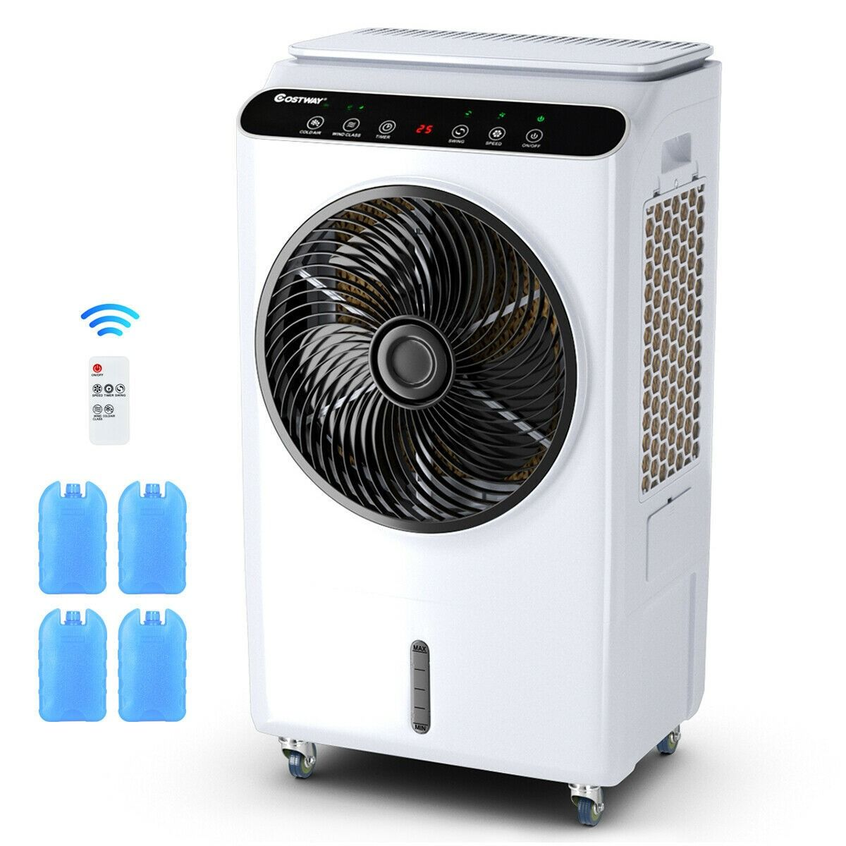 Evaporative Portable Air Cooler Fan Humidifier Air Cooler Air