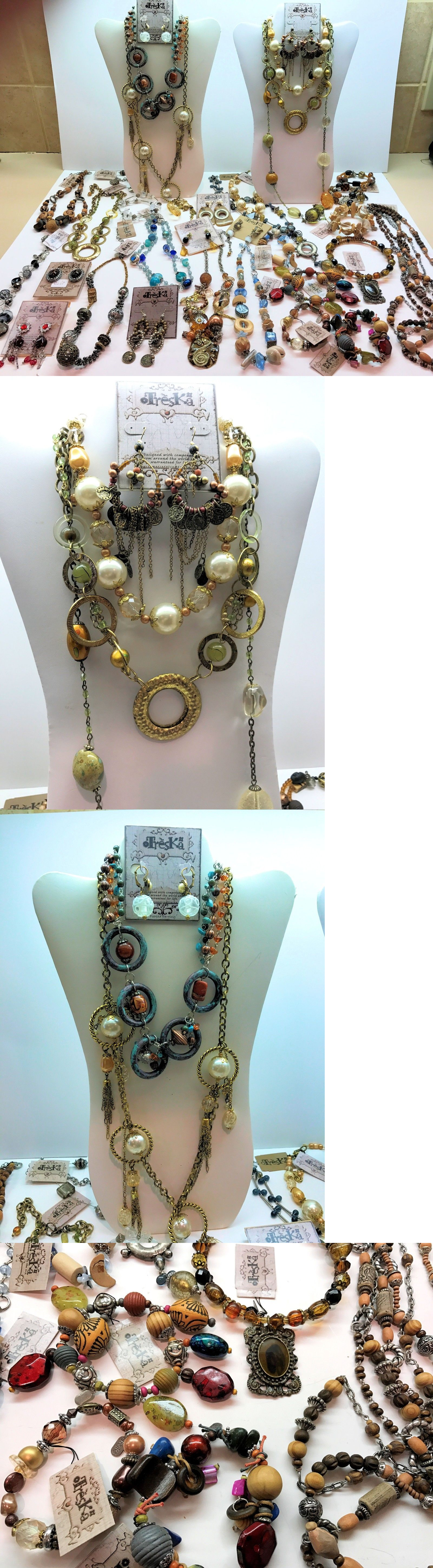 Costume Jewellery Buy Cheap Mixed Lot Of Necklaces.