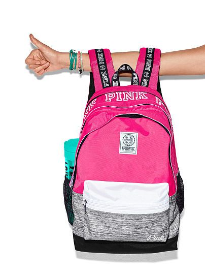 Campus Backpack PINK | My Love For V.S. | Pinterest | Pink ...