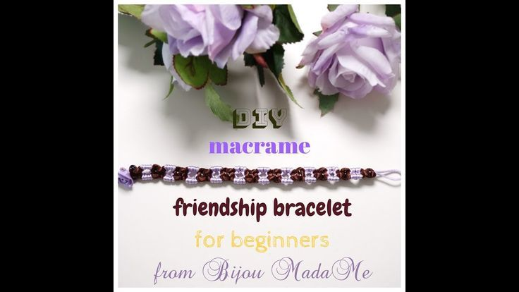 #bracelet #DIY #easy #friendship #jewelry #macrame         DIY easy macrame friendship bracelet. DIY macrame jewelry. How to make f... #easyfriendshipbraceletpatterns