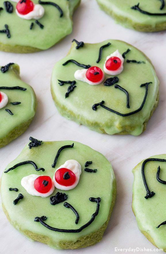 Matcha Grinch Cookies Recipe Food Envy Grinch Cookies Cookies