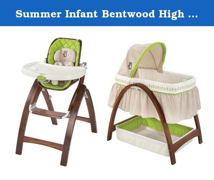 Summer Infant Bentwood High Chair U0026 Bassinet With Motion. The Bentwood High  Chair Provides A