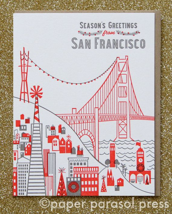 Seasons greetings from san francisco letterpress card seasons greetings from san francisco letterpress card m4hsunfo