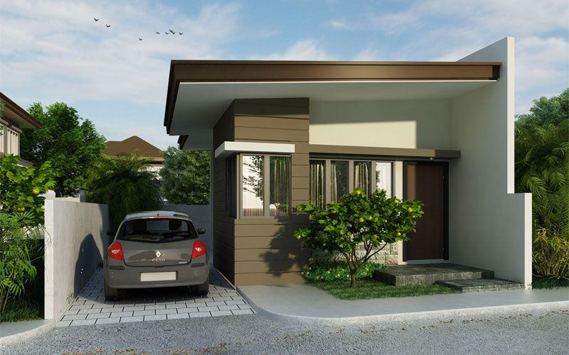Small House Design, PHD 2015007 Is A Definition Of A Great Bacheloru0027s Pad  With A Floor Area Of Only 33 M² Which Can Be Constructed Out Of A 68 M² Lu2026