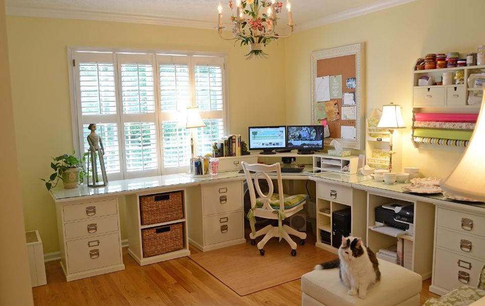 Image Result For Home Office Craft Room