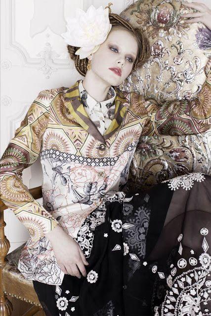 "Susana Jacobetty: Fashion Editorial TABU mag ""Tropical Palace"""
