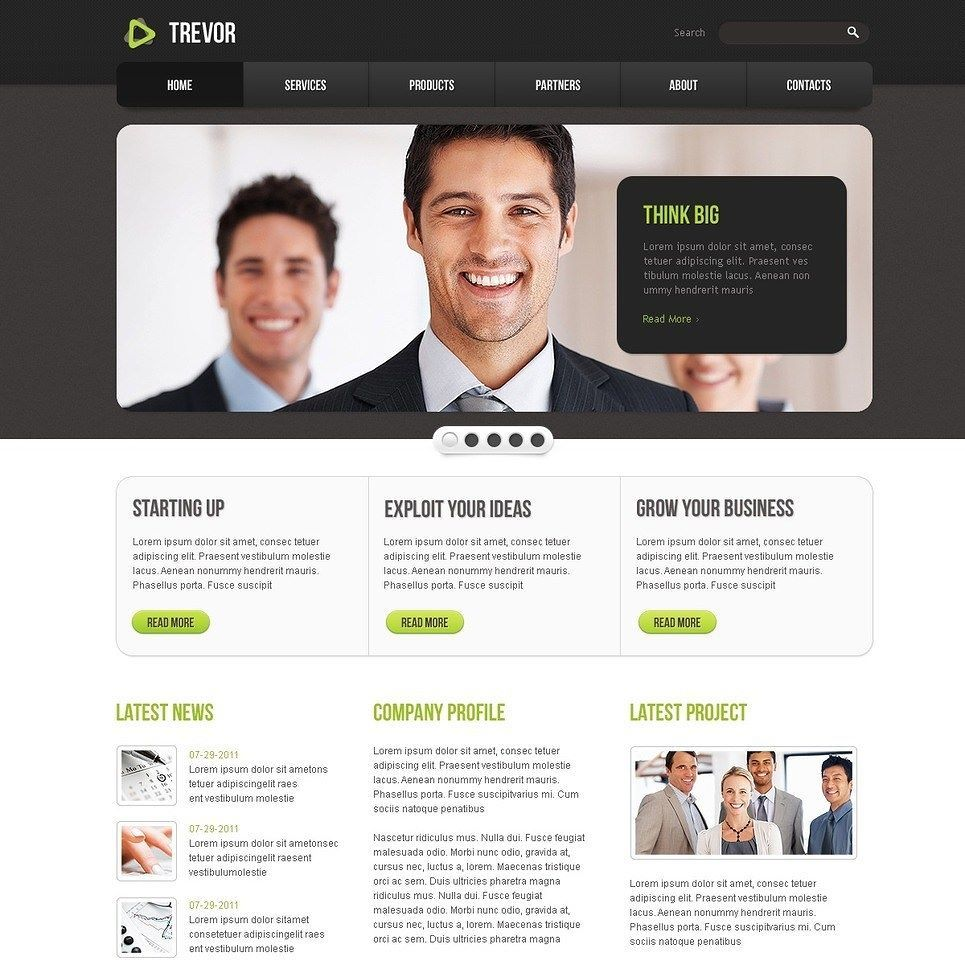 Click here to go to the company website - Business Website Template Click Here Live Demo Http Cattemplate