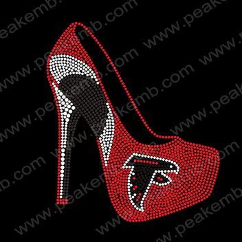 9a33774c Hot Design Falcons High Heel Rhinestone Transfers Wholesale ...