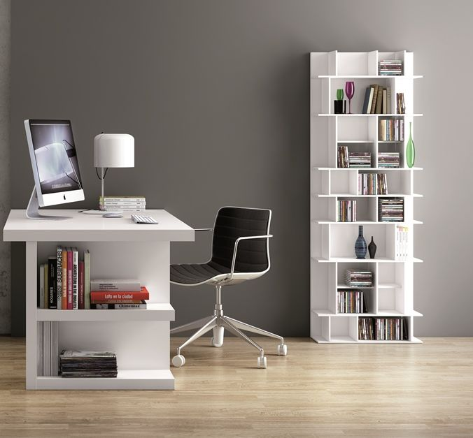 Temahome Panorama Tall Storage Display Unit In Pure White