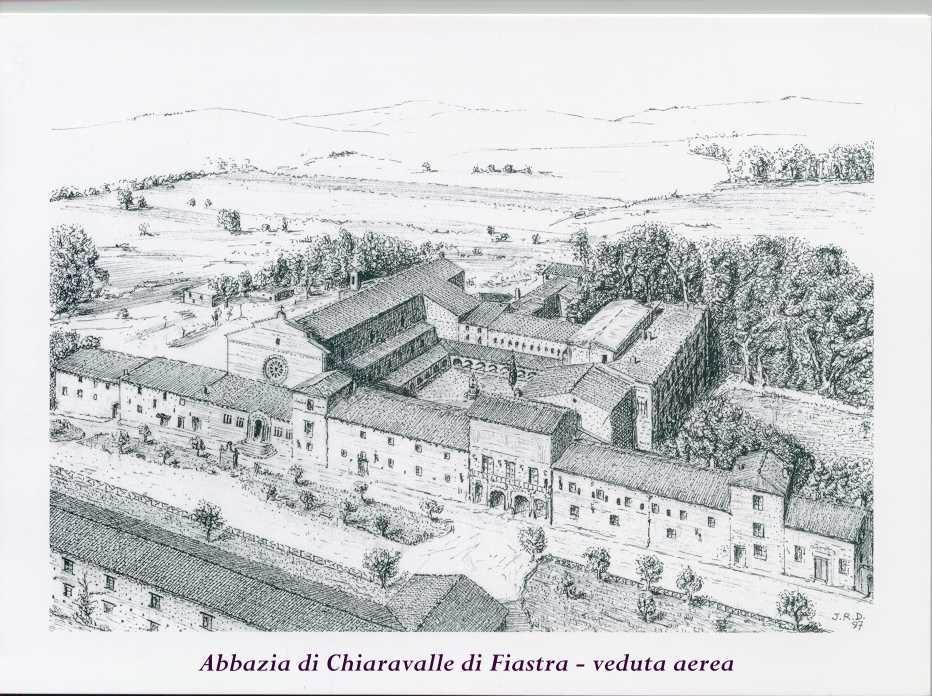 Abbazia di Chiaravalle di Fiastra, Italy.