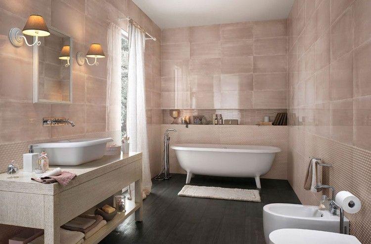 Moderne Badezimmer Fliesen U2013 Badoase In Neutralen Farben #badezimmer  #badoase #farben #fliesen #moderne #neutralen
