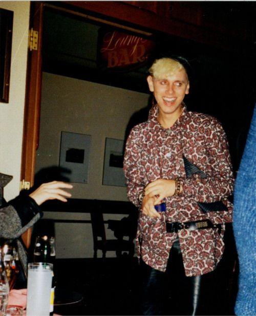 martin gore's fashion statements