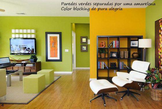 sala de estar - Verde com amarelo é ótimo!   Interior   Pinterest ...