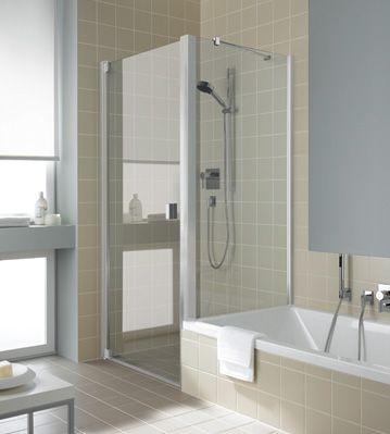 raya pendelt r 1 fl gelig und seitenwand verk rzt auf badewanne kermi duschkabinen pinterest. Black Bedroom Furniture Sets. Home Design Ideas