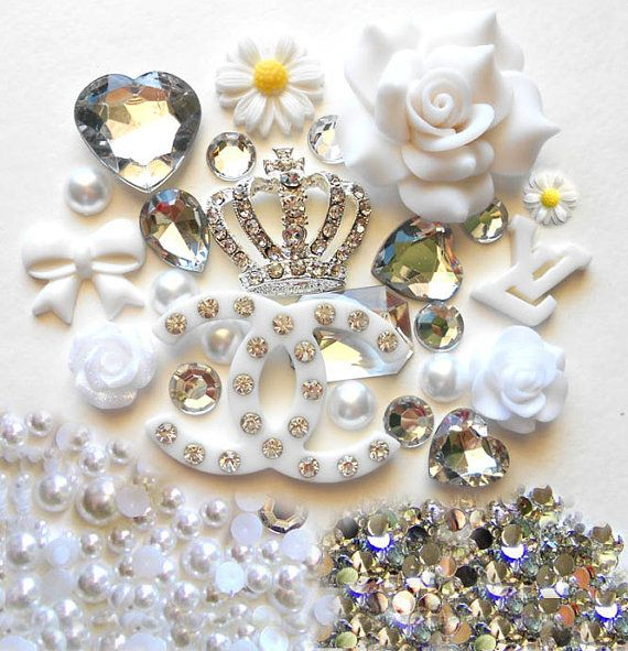 DIY Bling Bling Flatback Resin Cabochon Deco Kit by LoveKittyDeco, $18.99