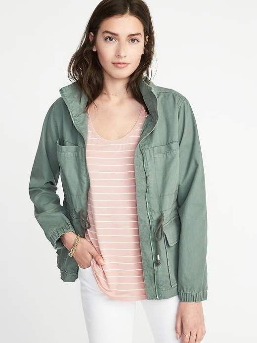 Twill Field Jacket for Women
