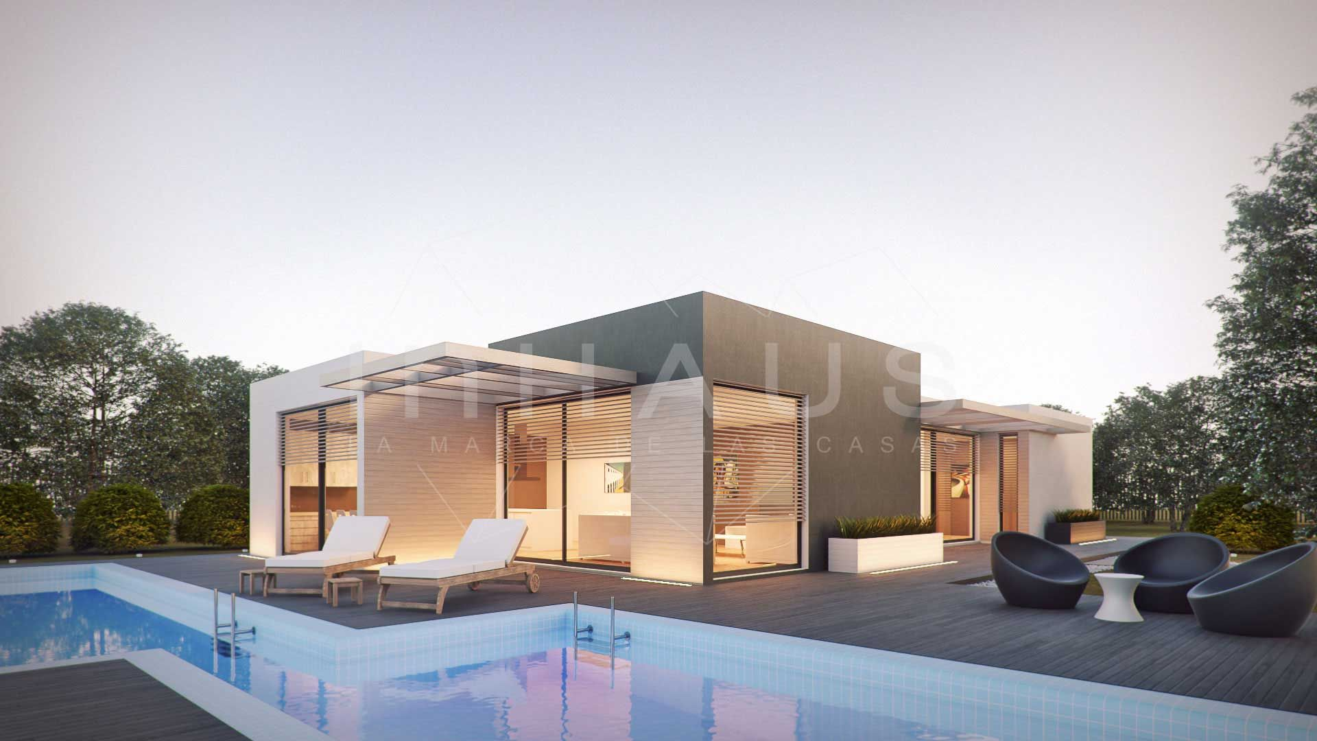 casa prefabricada moderna dise o llanes de inhaus