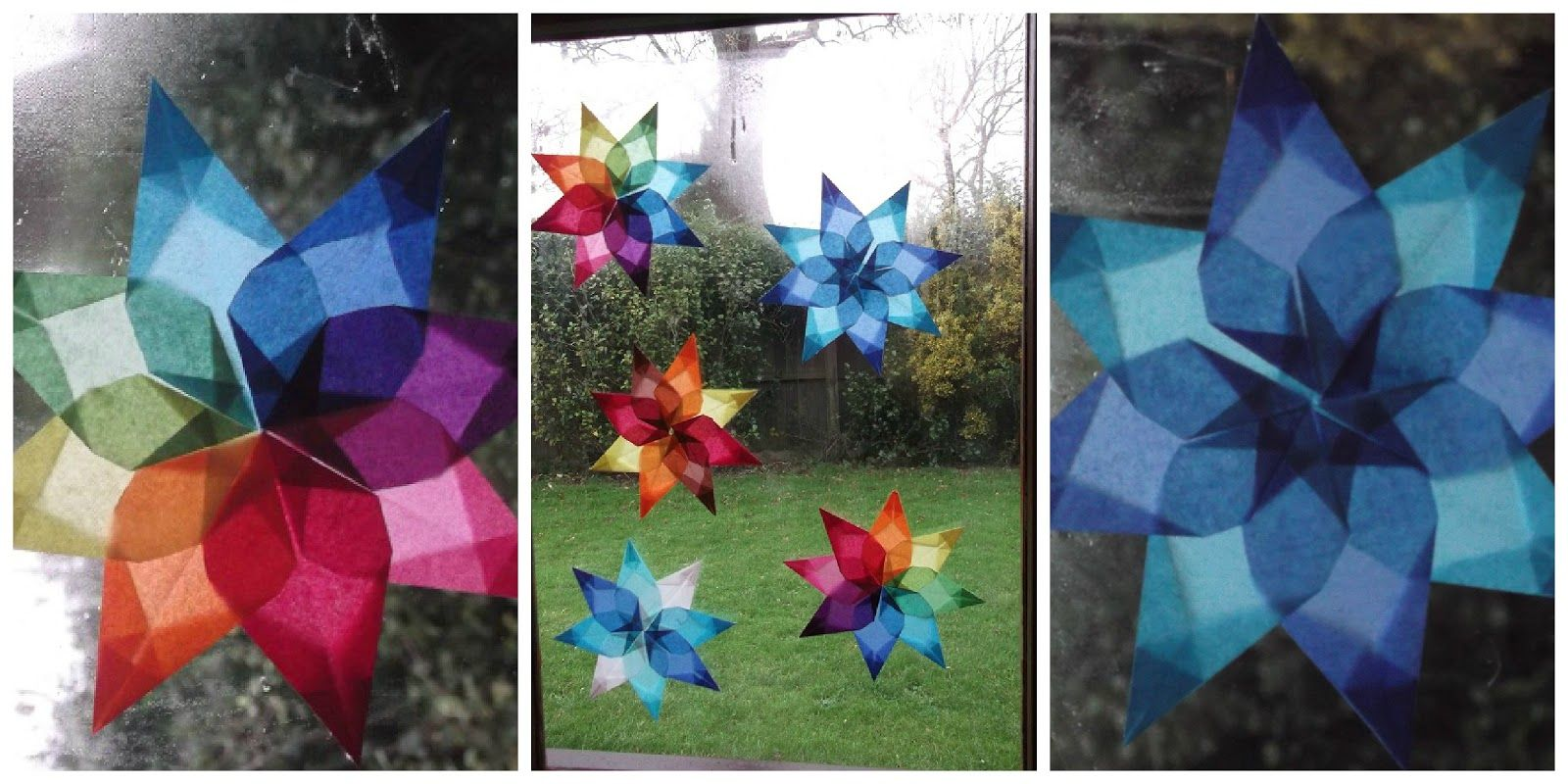 Winter Star Suncatchers Early childhood education, Early