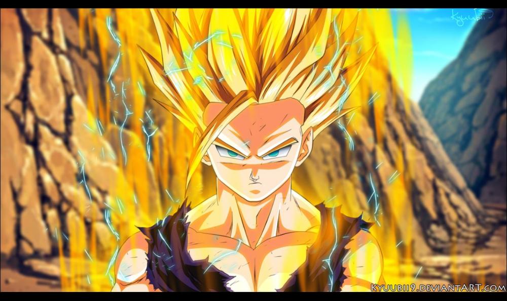 Free Download Gohan Ssj2 By Kyuubii9 1158x690 For Your Desktop Mobile Tablet Explore 76 Ssj2 Gohan Wallpaper Gohan Vs Cell Chibi Goku Dragon Ball Art
