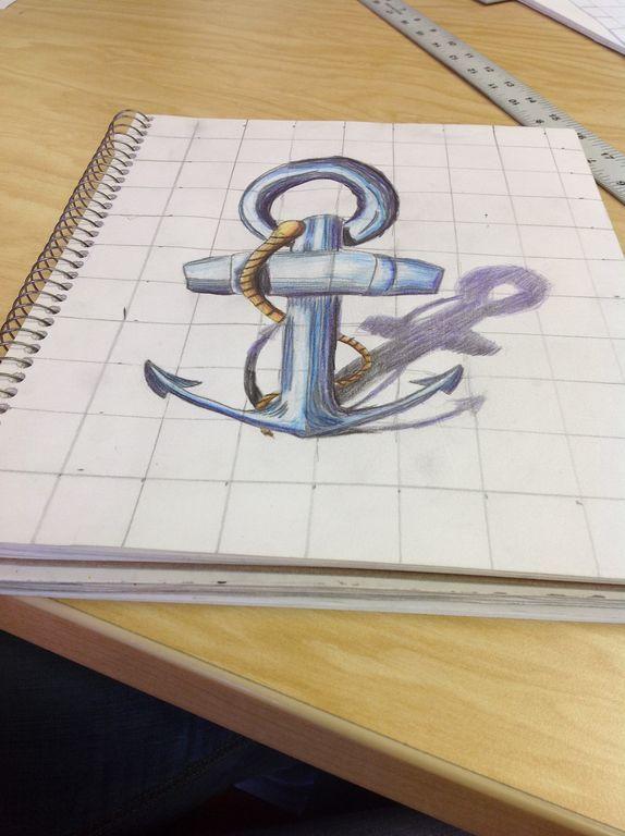 3D Anamorphosis Drawings : Part 2 | Lesson Plan Ideas (K-12