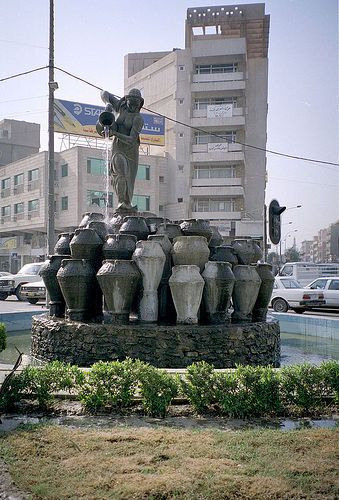 Statue Of Morgiana Alibaba And Forty Thieves Baghdad Outdoor