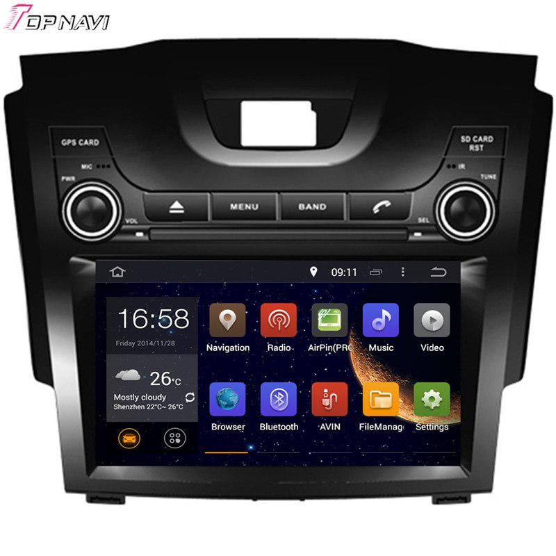 Topnavi 8 Octa Core 2gb Ram Android 6 0 Car Radio Stereo Gps For S10 S 10 For Chevrolet Audio Dvd Player Car Dvd Players Car Radio Car Gps