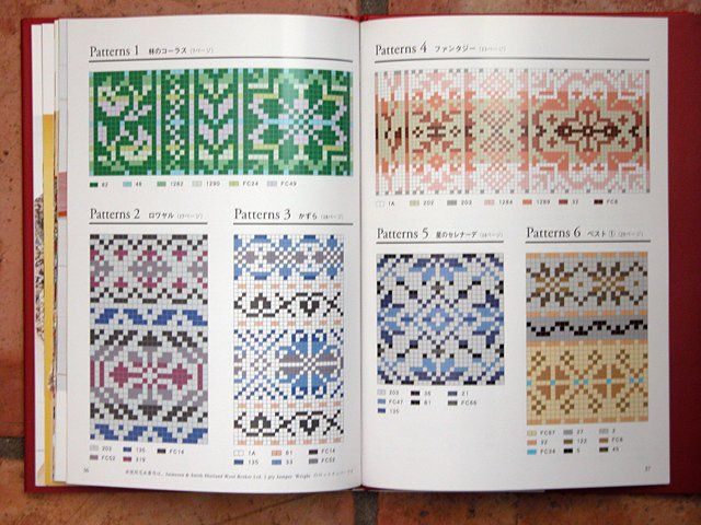 traditional knitting patterns | ... about Free Fair Isle Knitting ...
