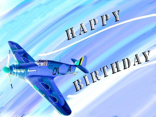 Fly High On Your Birthday Happy Birthday Cards Happy Birthday
