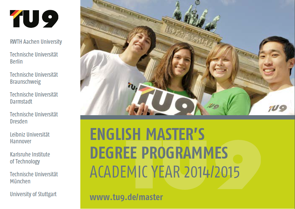 English Masters Programs In Germany