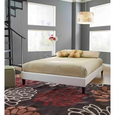 Rest Rite Fairview Twin Faux Leather Upholstered Bed