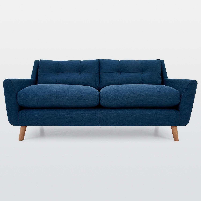 Halston Fabric 3 Seater Sofa Next Day Delivery Halston Fabric