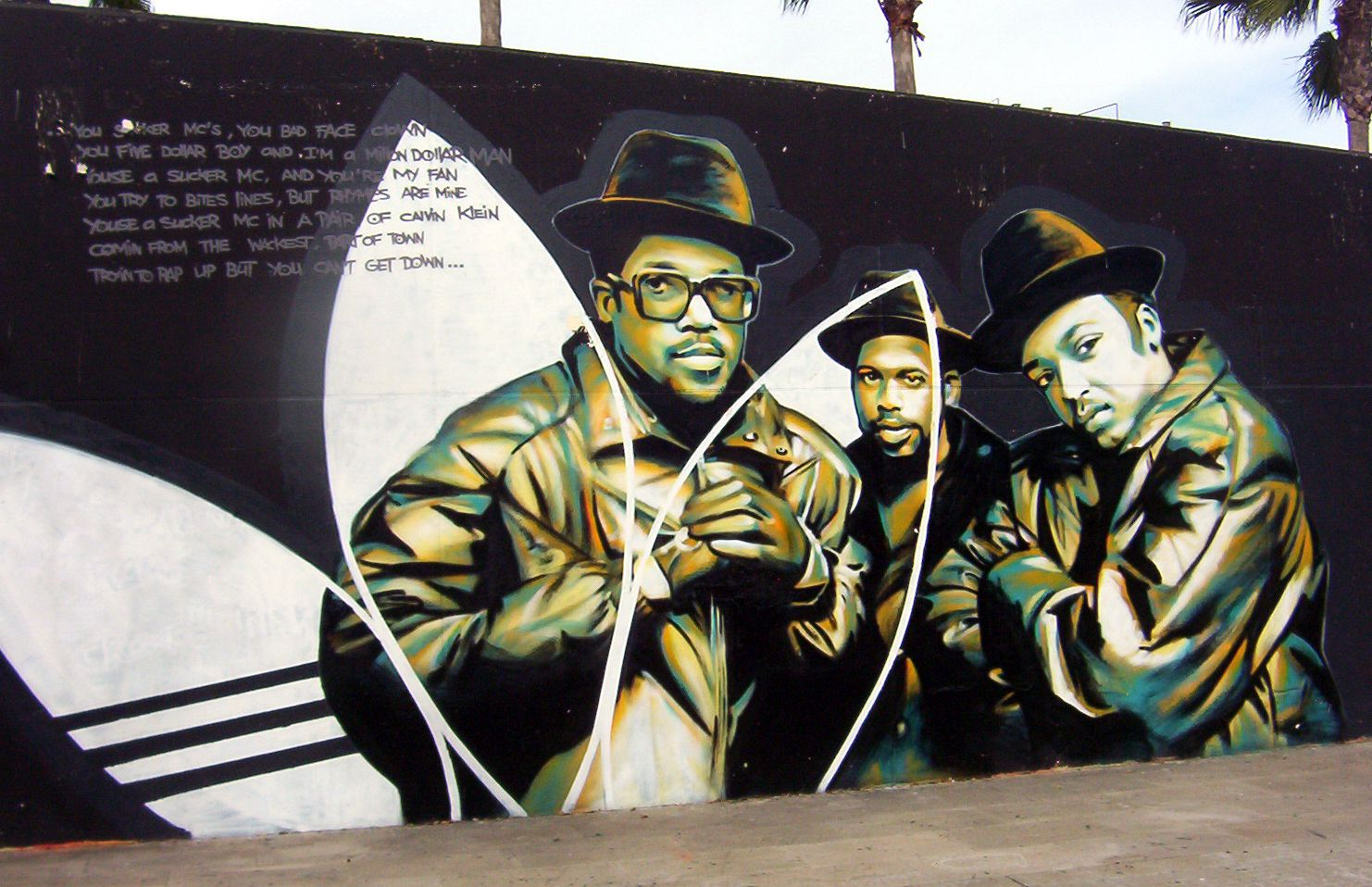 Your graffiti wall - Find This Pin And More On The World Is Your Canvas Run Dmc Adidas Graffiti Wall