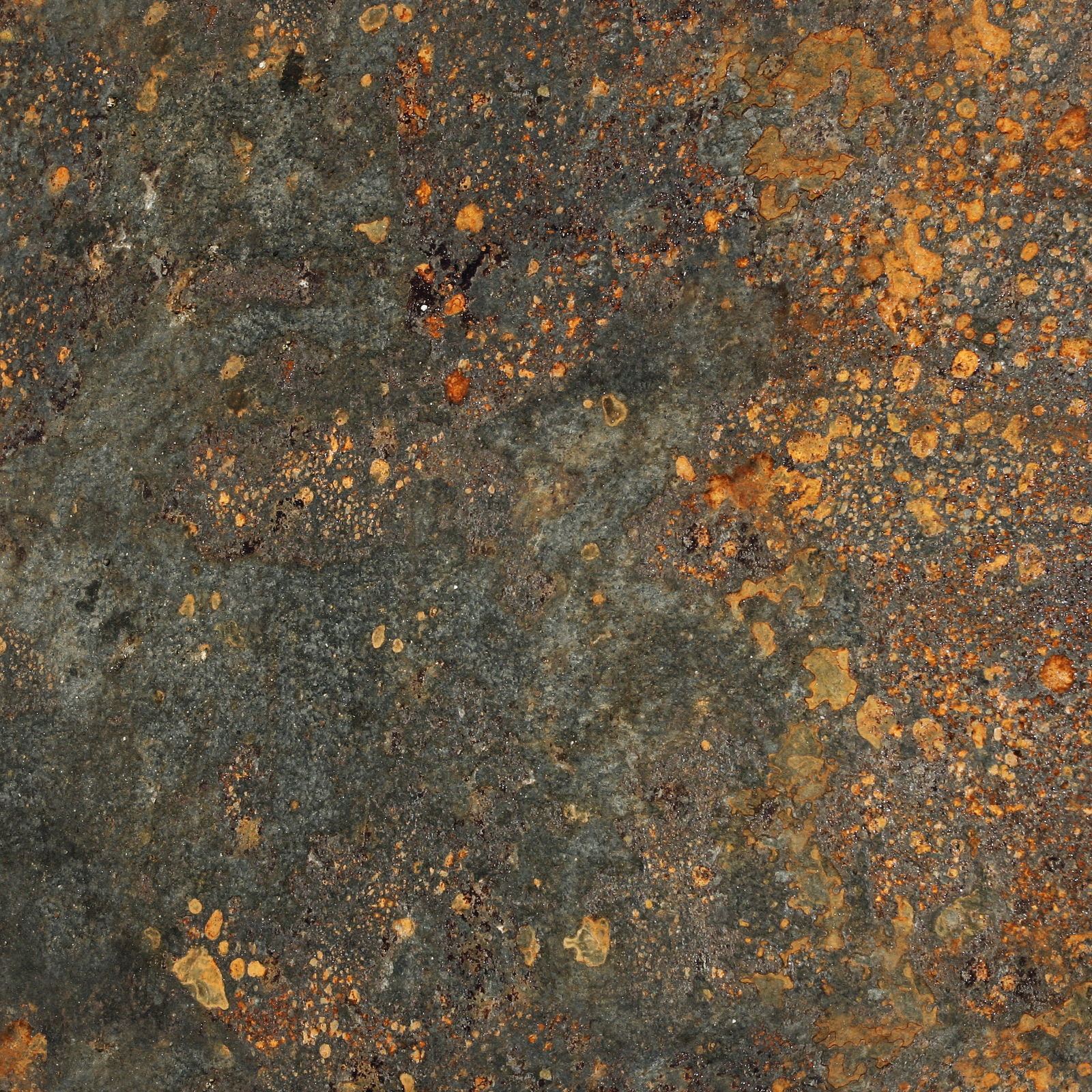 Japanese Cast Iron Red Rusty Texture