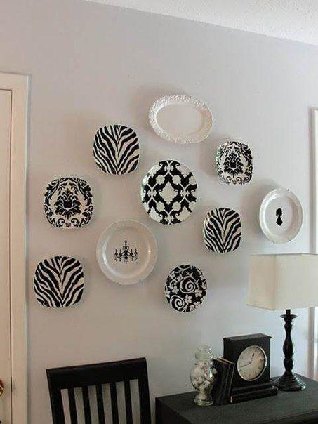 Decorazione di piatti da appendere posted by for Decorazioni piatti
