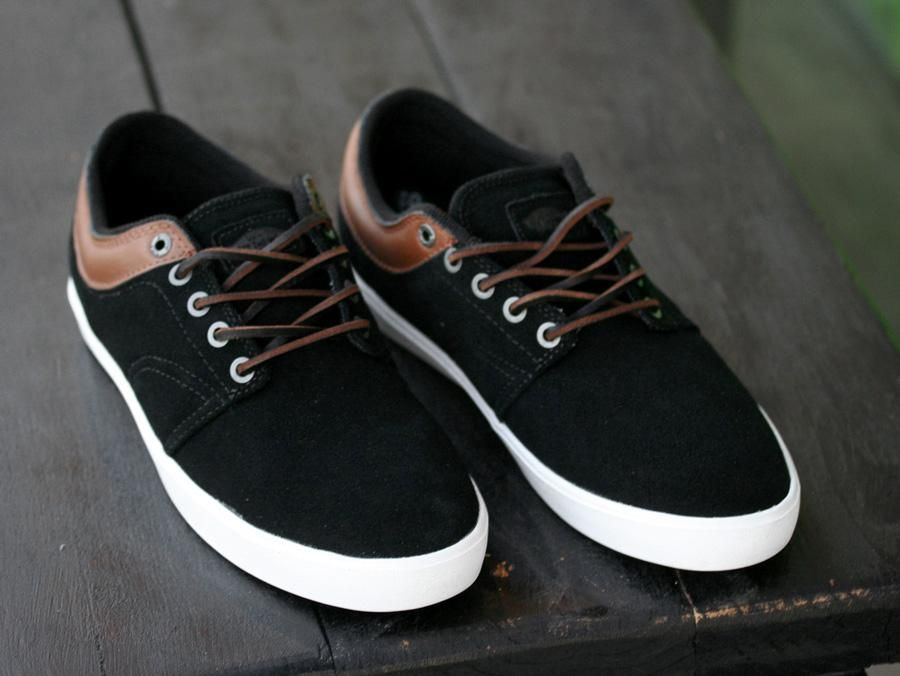 Vans Pacquard Black Brown White My Style Shoes Mens