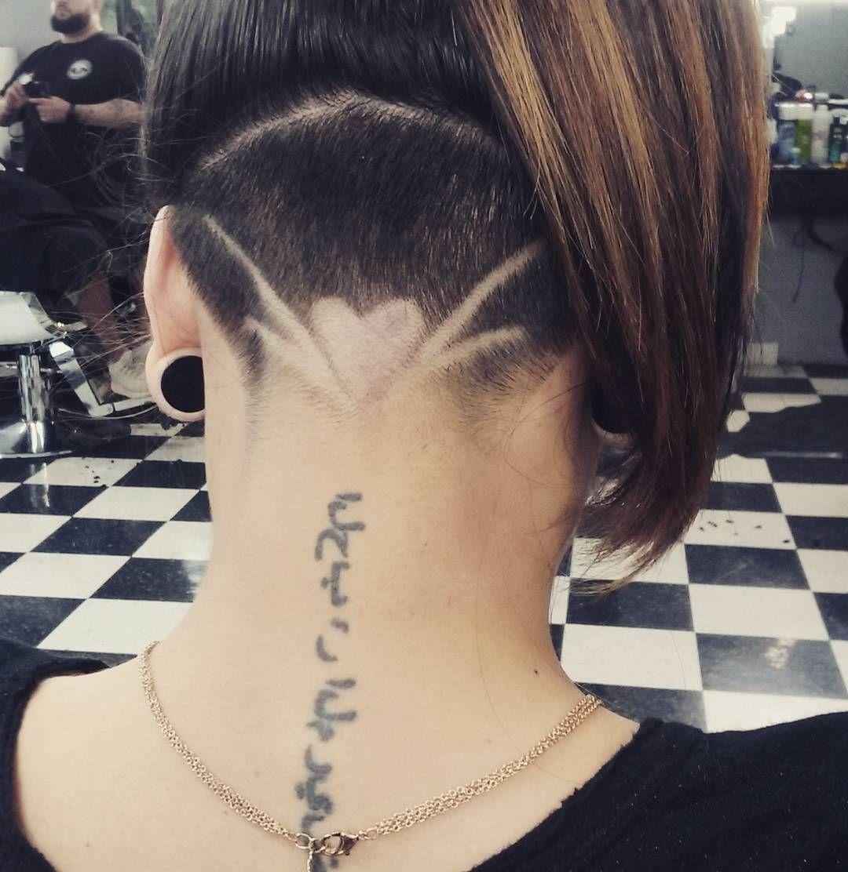 heart undercut design   undercut ideas - haircuts and