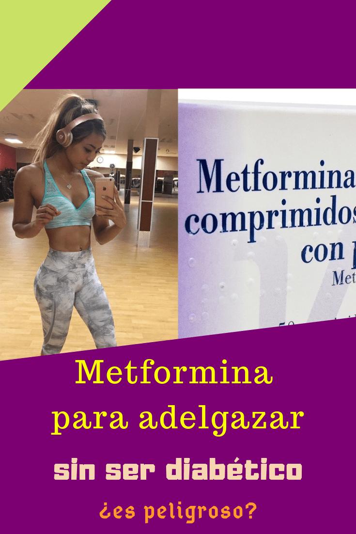 como se puede tomar la metformina para bajar de peso