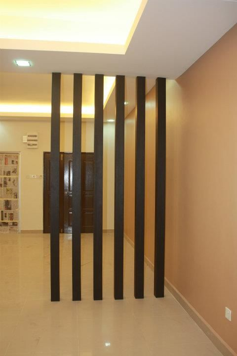 Partition Wood Pillar Divider Woodwork
