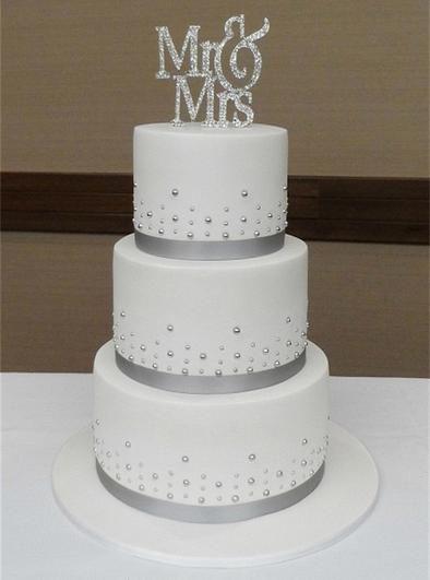 Mr And Mrs Cake Topper Wedding Wedding Cakes Pinterest