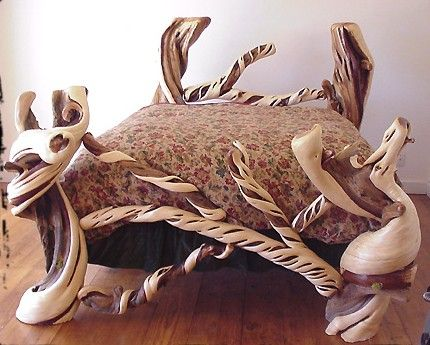 Juniper Bed Made In Mitchell Oregon By Juniper Guy Redwood