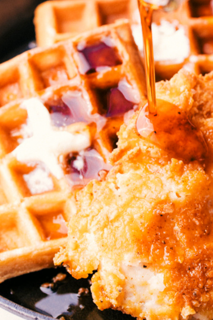 Easy Chicken And Waffles In 2020 Fried Chicken And Waffles Chicken And Waffles Recipe Easy Chicken And Waffles