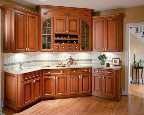 Attractive Kitchen Color Schemes With Wood Cabinets   Http://www.nauraroom.com