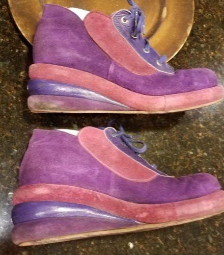 2357a7a56cca3 70s-Funky-Disco-Vintage-Mens-Platform-Purple-Suede-Shoes-Size-9-rare ...
