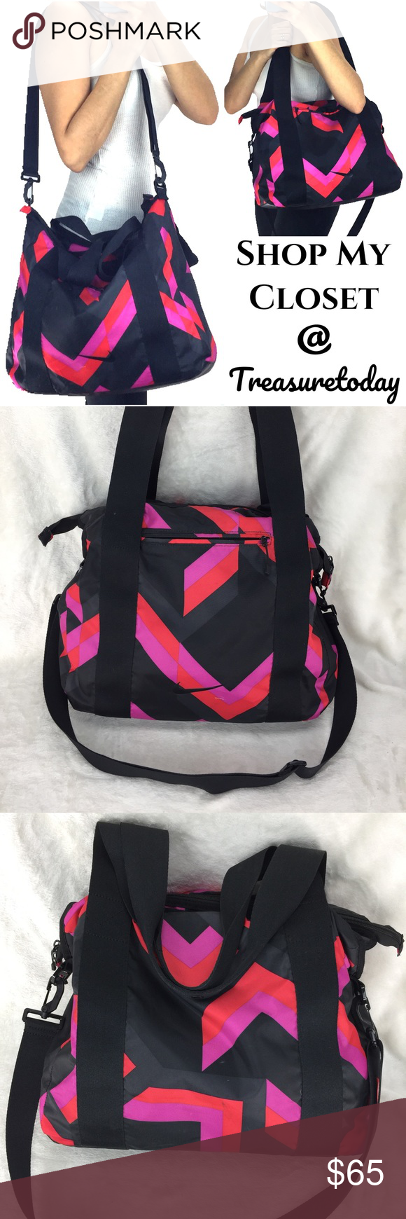 ... Nike Large Gym Travel Nylon Bag Rare and looks amazing ! Spacious and  great for the ... f8c217ccb0