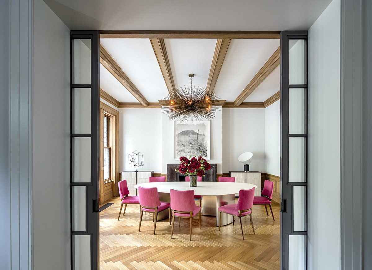Dining Room New York Modern Dining Room In New York Nyrees Roberts & Partners