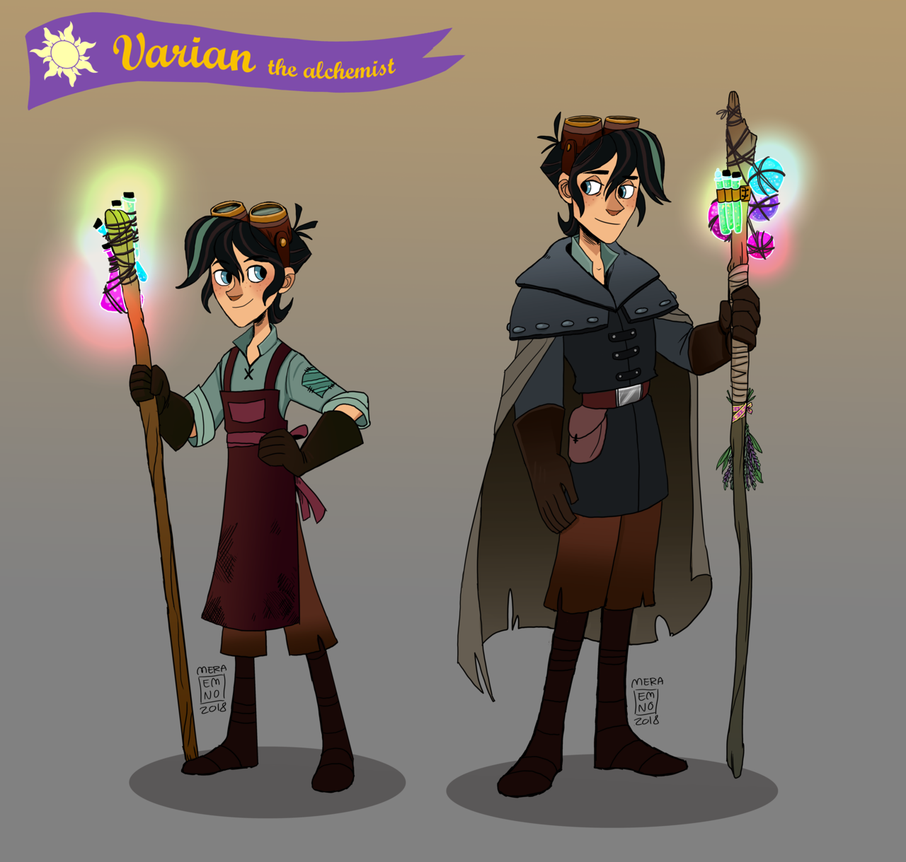 """""""Young And Older Varian, The Alchemist Of Corona. Nvm Me"""