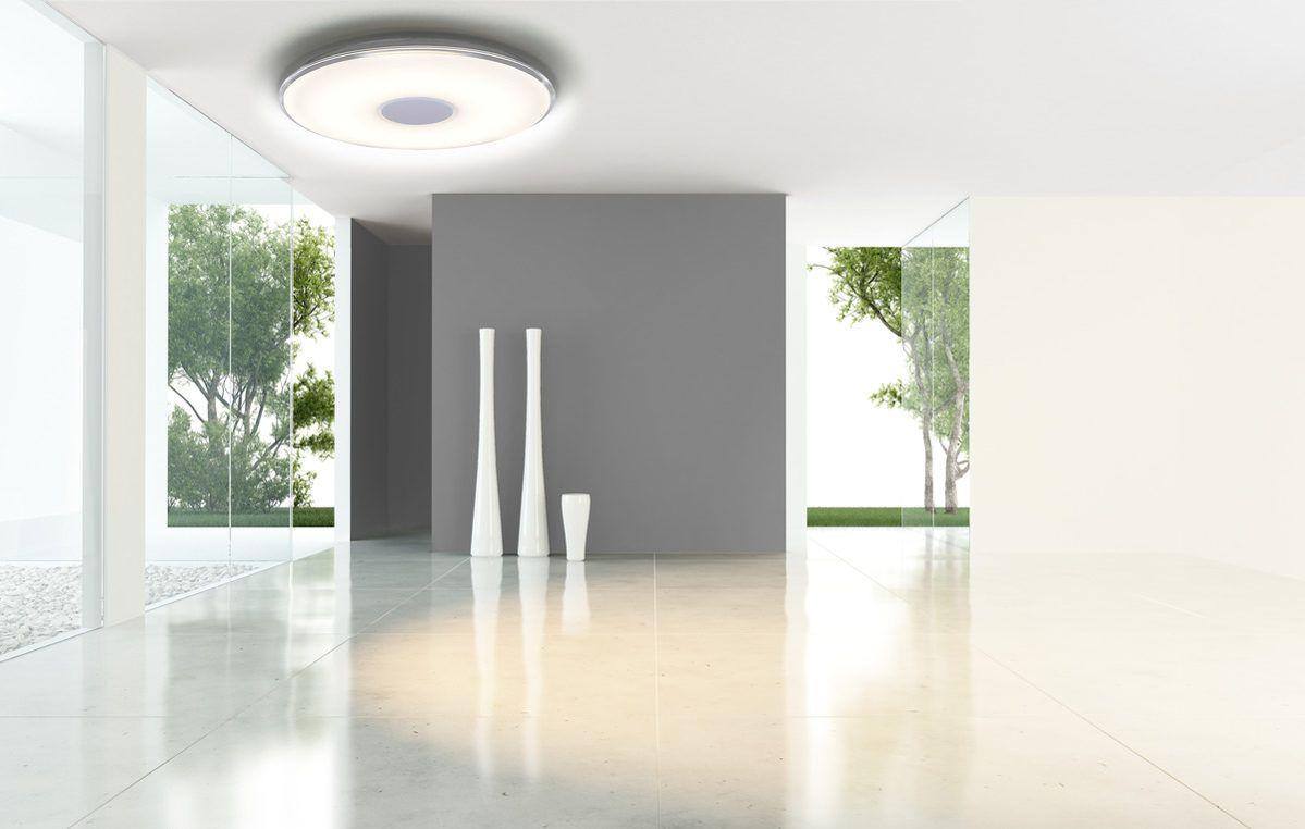 Einzigartige Deckenleuchte Mit Modernem Design Die Mit Vielen Funktionen Beeindruckt Wahrend Sie Die Helligkeit G Lederteppiche Design Leuchten Trio Leuchten