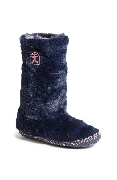 BEDROOM ATHLETICS 'Sophia' Faux Fur Bootie Slipper available at #Nordstrom