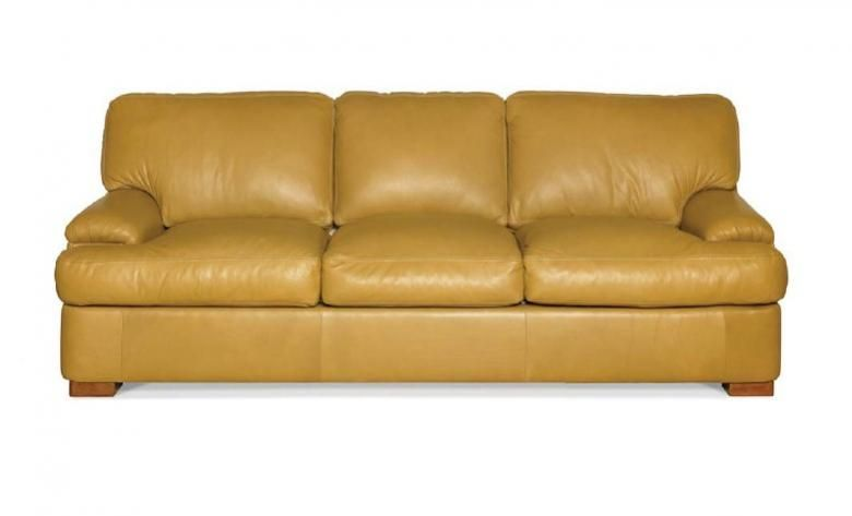 Elite Leather Manhasset Lenoir Sofa